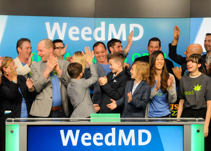 WeedMD Shares Soar
