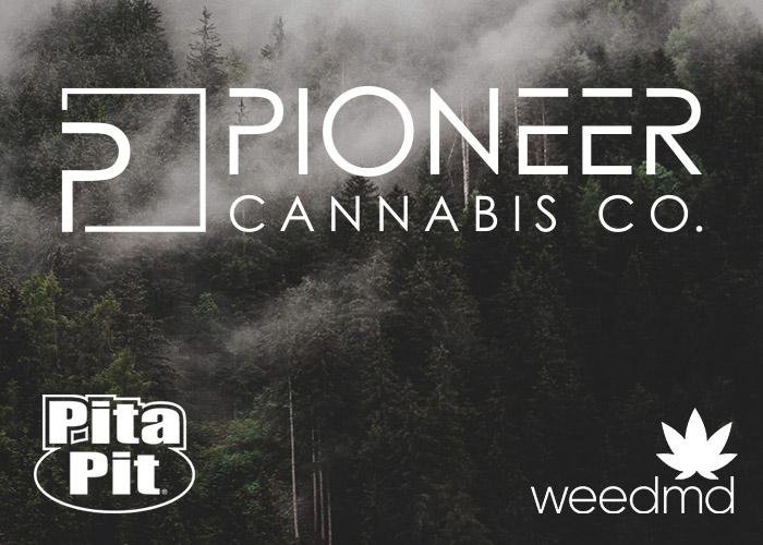 Pioneer Cannabis, WeedMD and Pita Pit Canada