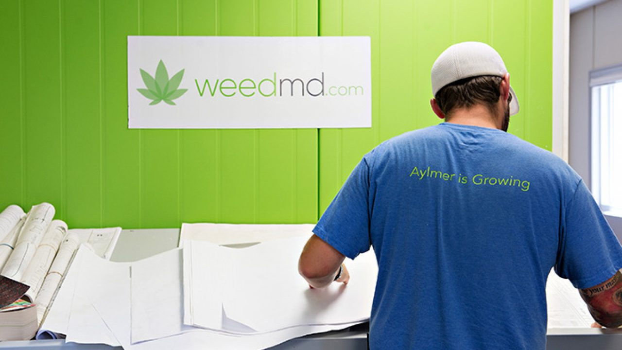 WeedMD to Convert Aylmer Facility to Cannabis Extraction and