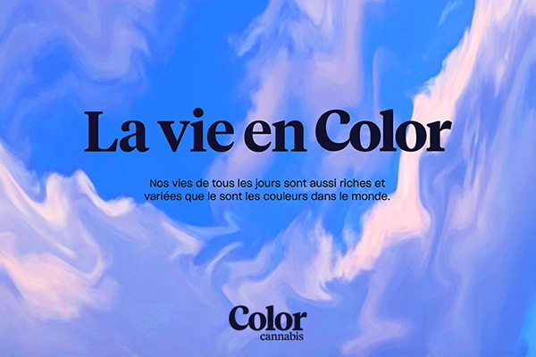 Color Cannabis now in Quebec!